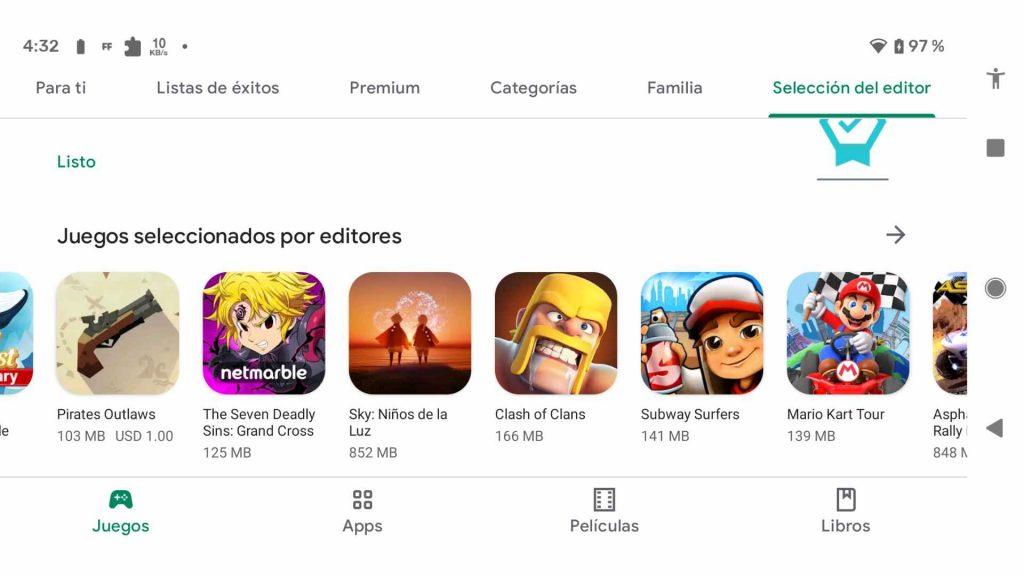 los mejor juegos para android