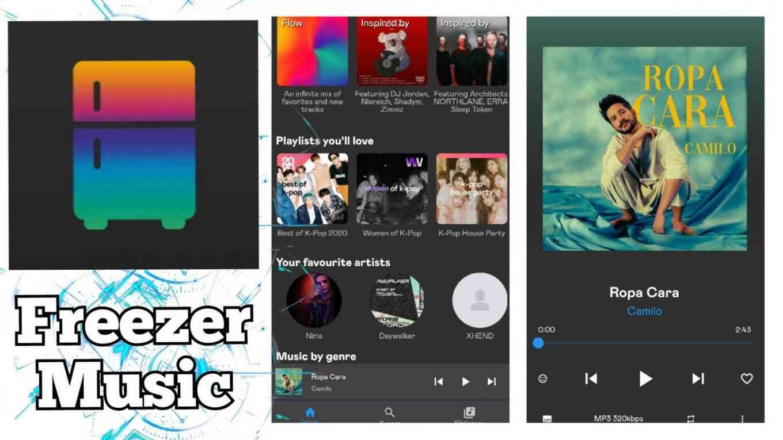freezer music apk token para freezer