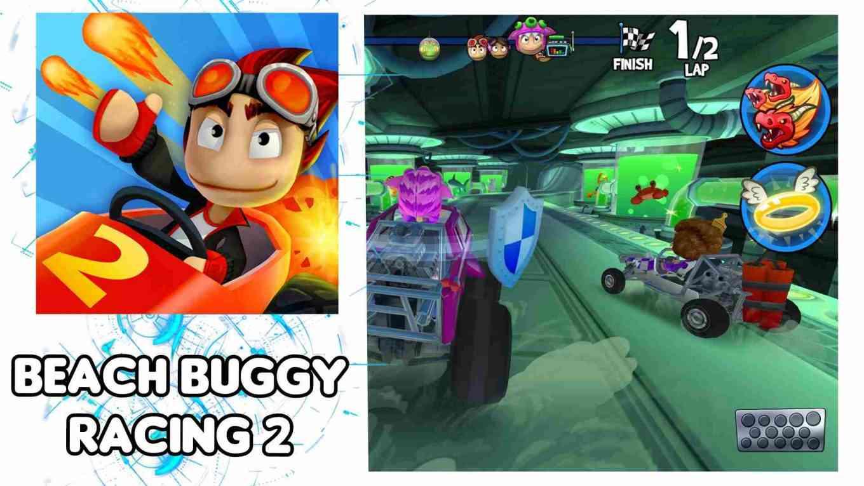 descargar beach buggy racing 2 mod apk dinero infinito