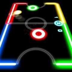 glow hockey mod apk unlimited money